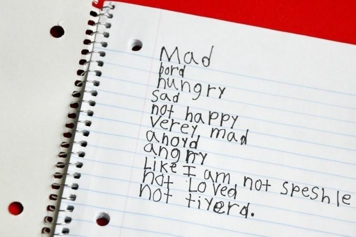 jouranl entry, handwritten on paper